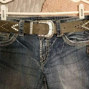Belt from the Buckle, Pewter. Size Med! 🌟NWT🌟